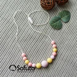 Слингобусы силиконовые Sofuto Babyteether Pastel 004