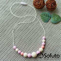 Слингобусы силиконовые Sofuto Babyteether Pastel 006