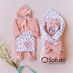 Комплект на выписку демисезонный (6 предметов) Sofuto baby Valvina