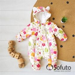 Комбинезон зимний Sofuto outwear Flowers