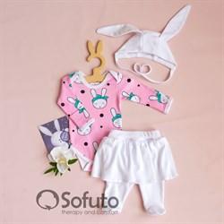 Комплект одежды 3 предмета Sofuto baby Miss Bunny