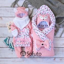 Комплект на выписку холодная зима (7 предметов) Sofuto baby Valvina