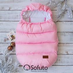 Конверт-дутик зимний Sofuto Pink