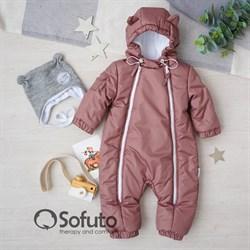 Комбинезон демисезонный Sofuto outwear toddler Cappuccino