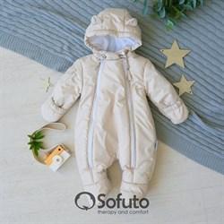 Комбинезон демисезонный Sofuto outwear Cream
