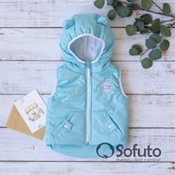 Жилет демисезонный Sofuto outwear Blue