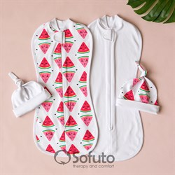 Комплект пеленок Sofuto Swaddler Watermelon