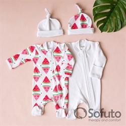 Набор слипов на молнии Sofuto baby Watermelon