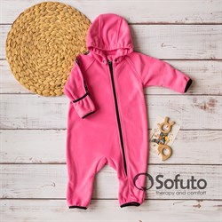 Комбинезон-поддёва Sofuto baby Fleece Pink