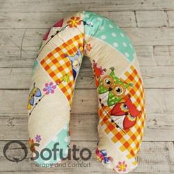 Подушка Sofuto ST Patchwork Owl