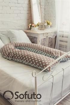 Подушка для беременных Sofuto UComfot Polka duble