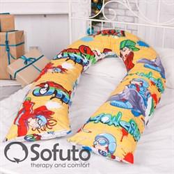 Чехол на подушку для беременных Sofuto UComfot hip-hop