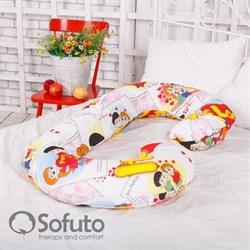Чехол на подушку для беременных Sofuto CСompact Love is