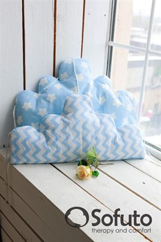 Бортик Sofuto Babyroom Cloud small Blue sky