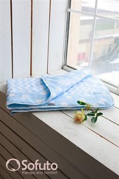 Одеяло стеганное Sofuto Babyroom Blue sky