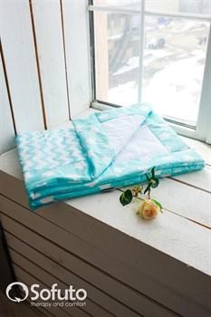 Одеяло стеганное Sofuto Babyroom Aqua patchwork