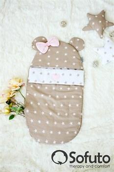 Конверт для новорожденного Sofuto Latte girl