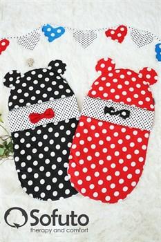 Конверт для новорожденного Sofuto Minnie red dots