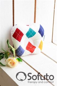 Подушка для новорожденного Sofuto Baby pillow Arlecchino