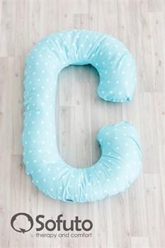 Чехол на подушку для беременных Sofuto CСompact Stars Aqua