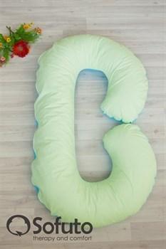Чехол на подушку для беременных Sofuto CСompact Praline blue