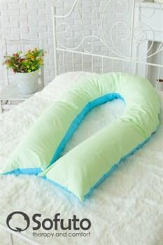 Чехол на подушку для беременных Sofuto UComfot Praline blue