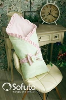 Конверт-одеяло на выписку Sofuto Praline Ness