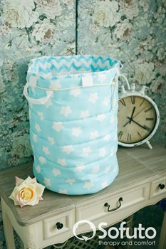 Большая корзина для игрушек Sofuto Aqua