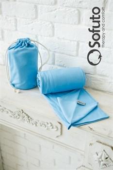 Слинг-шарф трикотажный Sofuto Babysling blue