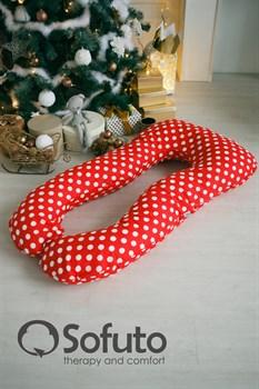 Подушка для беременных Sofuto UAnatomic Red dots