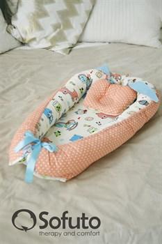 Кокон-гнездышко Sofuto Babynest Toys