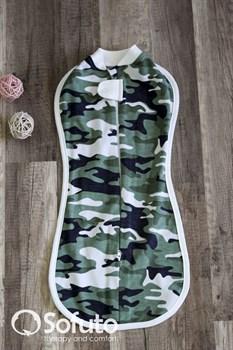 Пеленка на молнии утепленная Sofuto Swaddler Military