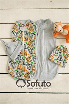Комплект пеленок Sofuto Swaddler Kroshka Enot