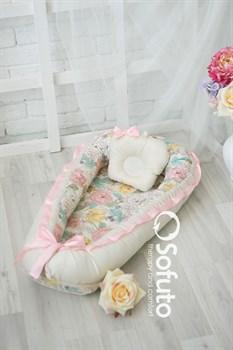 Кокон-гнездышко Sofuto Babynest Renuar