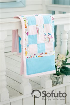 Одеяло стеганное Sofuto Babyroom Holiday roses