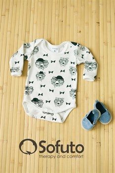 Боди детское Sofuto baby Mr bear