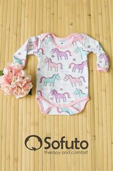 Боди детское Sofuto baby Unicorn