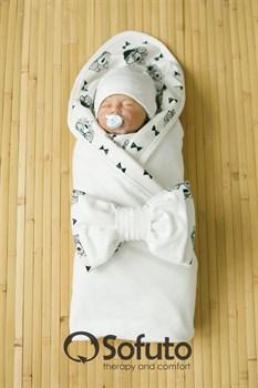 Комплект на выписку летний (5 предметов) Sofuto baby Mr bear