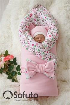 Комплект на выписку демисезонный (7 предметов) Sofuto baby Flowers