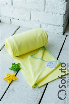 Слинг-шарф трикотажный Sofuto Babysling yellow