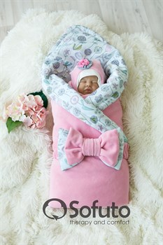 Комплект на выписку демисезонный (7 предметов) Sofuto baby Puffi