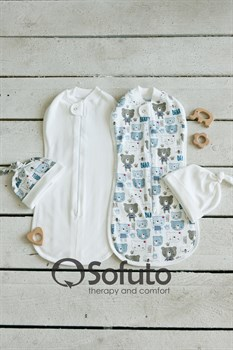 Комплект пеленок Sofuto Swaddler Teddy