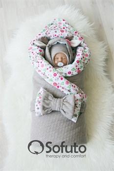 Комплект на выписку холодная зима (7 предметов) Sofuto baby Faline