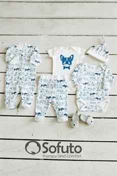 Комплект одежды 5 предметов Sofuto baby Dogs
