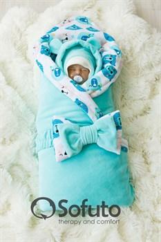 Комплект на выписку холодная зима (7 предметов) Sofuto baby Osito