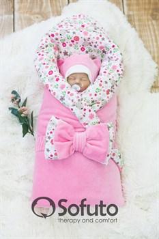 Комплект на выписку зимний (7 предметов) Sofuto baby Fowers