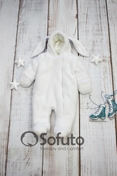 Меховой комбинезон Sofuto baby Rabbit