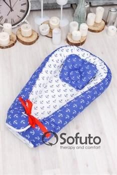 Кокон-гнездышко Sofuto Babynest Sailor