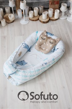 Кокон-гнездышко Sofuto Babynest Sleep dream