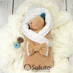 Комплект на выписку демисезонный (6 предметов) Sofuto baby Balloons